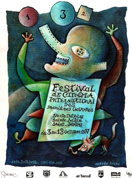 Festival de cinema international des premieres oeuvres, Firmin, Anik Benoit