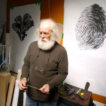 Pierre Leblanc sculpteur-Naissance d'une sculpture - Photo Anik Benoit